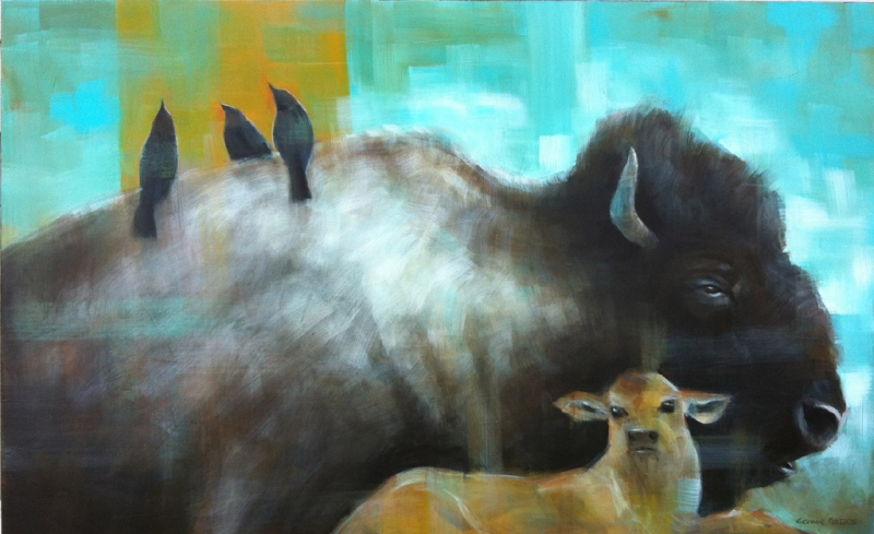 connie-geerts-mellow-afternoon-acrylic-48x30